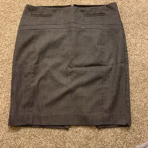 Gray & Polka Dot Express Skirt
